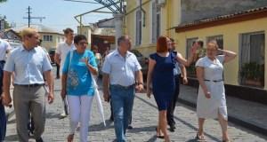 Председатель Госсовета Крыма Владимир Константинов посетил Евпаторию