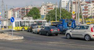 В Севастополе «огурец» не решил проблему пробок на 5-м километре. Теперь власти займутся маршрутками