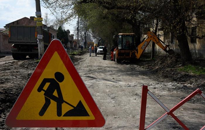 Где в Симферополе будут ремонтировать дороги