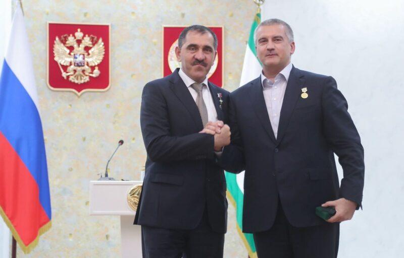 Руководитель Дагестана принял участие вюбилейных празднованиях Республики Ингушетия
