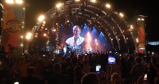 Владимир Путин побывал в Коктебеле на закрытии фестиваля «Koktebel Jazz Party»
