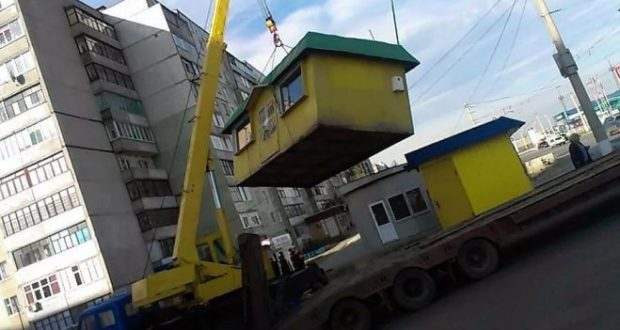 В Севастополе грозят в ближайшее время снести большинство незаконных торговых объектов