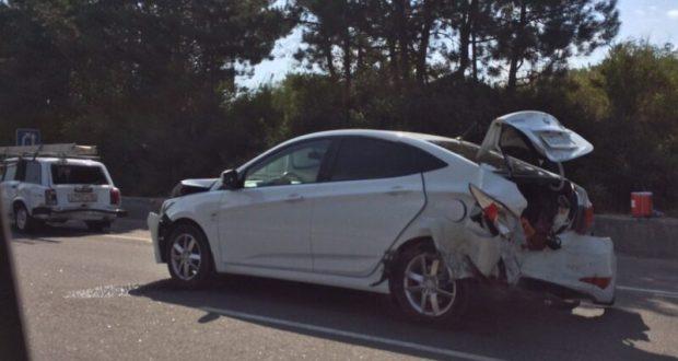 ДТП в Крыму: 12 августа. Водителей и пассажиров из авто деблокировали спасатели