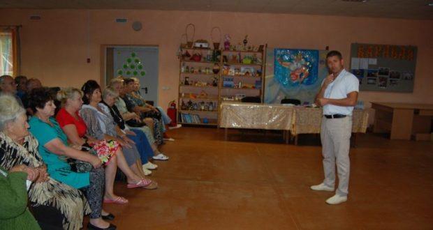 Балаклавский депутат, лидер ОД «Доброволец» Дмитрий Голиков провел встречу на округе
