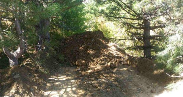 Минприроды Крыма установило нарушителей, которые складировали отходы на горе Дарсан