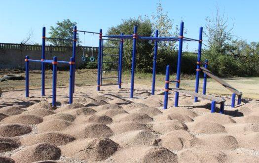 В городе Саки установят ещё две спортивные площадки
