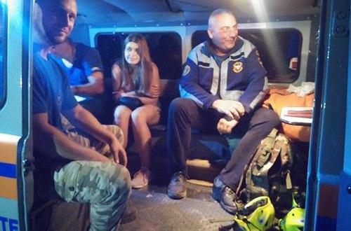 Поход на гору Меганом для девушки завершился трёхчасовой спасательной операцией