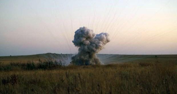 В районе крымского села Багерово обезврежены пять бомб времен Великой Отечественной войны