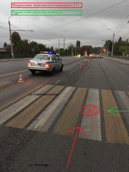 ДТП в Крыму: 22 сентября. В Симферополе водитель авто сбил насмерть пешехода и сбежал
