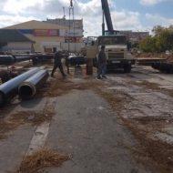 Что строят в Евпатории на территории бывшего рынка «Олимп»? Ничего! Идет замена теплотрассы
