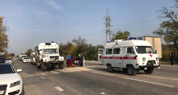 Пятница, 20-е. Тяжелый день для крымских пешеходов