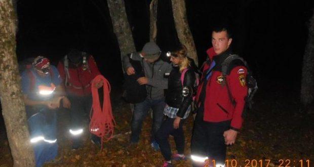 Крымские горы Бойка и Сокол не любят принимать гостей по вечерам
