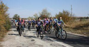 Работники Крымской прокуратуры провели осенний велопробег