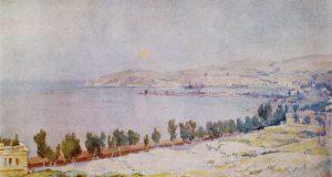 В Феодосийской галерее им.Айвазовского открылась выставка «Море в произведениях Барсамова»