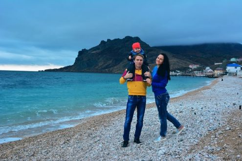 Лучшая Молодая семья России – семья Данильченко из Коктебеля