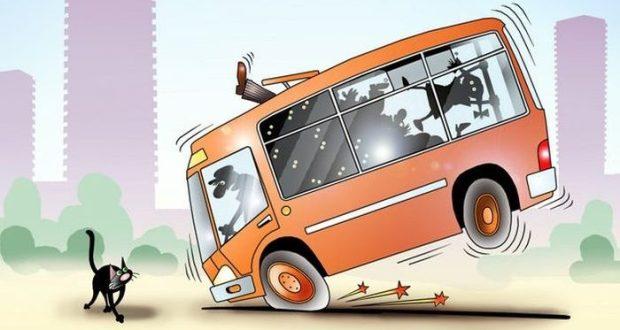 ДТП в Крыму: 27 ноября. Резкое торможение и... пассажир автобуса стал пациентом больницы