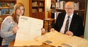 Севастопольской библиотеке передали газеты с первой публикацией рассказа «Морская душа»