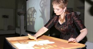 «Истории Херсонеса» показали в песочном шоу