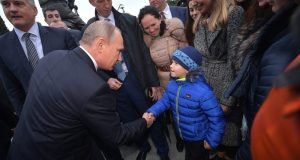 Осенний Крым и Президент Путин