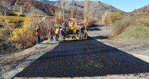 Под Судаком идёт ремонт дороги, ведущей в село Ворон