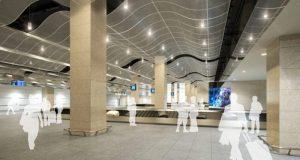 В новом терминале аэропорта Симферополя монтируют систему обработки багажа