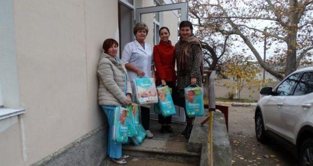 Нотариальная палата Севастополя оказала помощь Дому малютки… «памперсами»