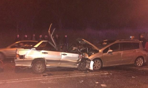 Смертельное ДТП в Инкермане. В лобовом столкновении погиб водитель ВАЗа