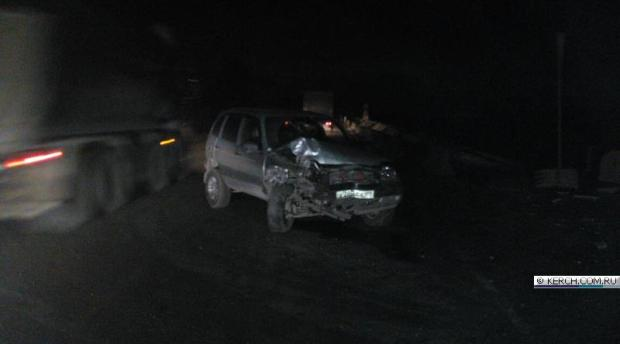 Серьёзное ДТП под Керчью, вечер 24 ноября: пострадали шесть человек, в том числе двое детей