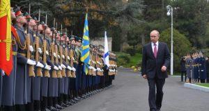 МИД Украины не устает «выражать протесты». Очередной – по поводу визита в Крым Президента РФ