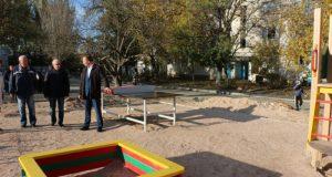 В трех севастопольских селах завершаются работы по благоустройству дворовых территорий