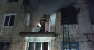 В Армянске в многоквартирном доме взорвался газ. Из-за пожара эвакуированы 60 человек