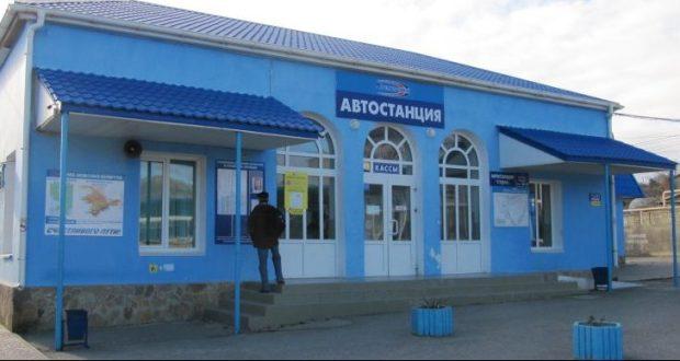 ДТП в Крыму: 12 декабря. Трагедия на автостанции Судака - автобус наехал на пешехода. Человек погиб