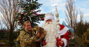 Главный российский Дед Мороз побывал в сафари-парке «Тайган»