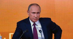 «Крымская тема» не стала одной из основных на пресс-конференции Владимира Путина