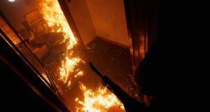 Пожар в крымском с. Полтавка: пострадали три человека