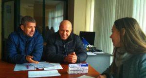 Очередной плановый приём депутатов севастопольского «Добровольца» в Балаклаве