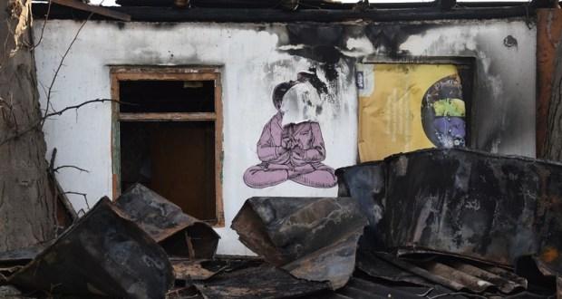 В центре Севастополя погиб бездомный мужчина. Сгорел