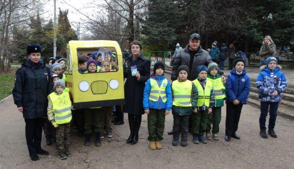 Севастопольский «шагающий автобус» возглавил детский омбудсмен