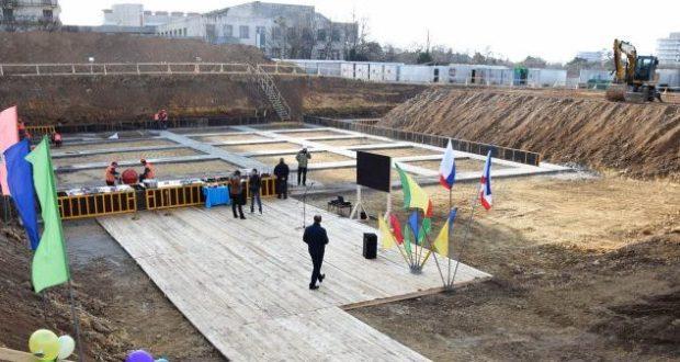 В Евпатории началось строительство физкультурно-оздоровительного комплекса