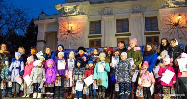 В Евпатории наградили победителей конкурса новогодней игрушки