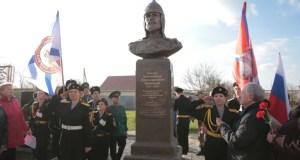 Памятник Александру Невскому открыли в Крыму