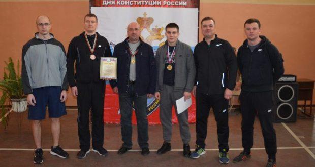 Сотрудники Следкома России по ЧФ стал призёрами открытого турнира по гиревому спорту