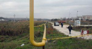 При установке видеокамеры в Севастополе повредили газопровод
