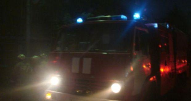 Пожар в Евпатории - госпитализирован мужчина