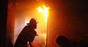 Пожар в Красногвардейском районе Крыма - эвакуированы 12 человек