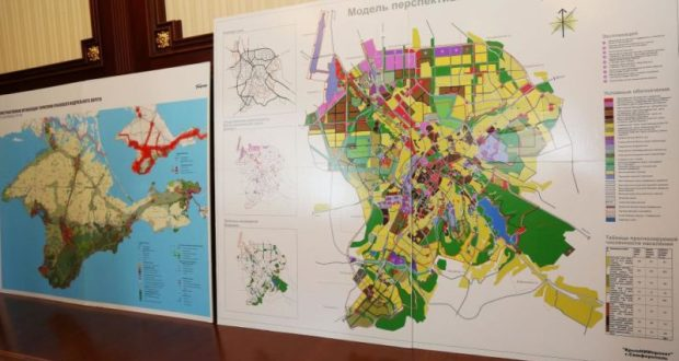 Симферополь к лету 2018 года примет откорректированный генплан города