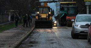 В Севастополе завершается ремонт дороги по ул. Надежды Островской