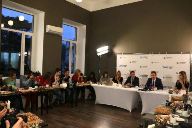 Губернатор Севастополя Дмитрий Овсянников подвел итоги года