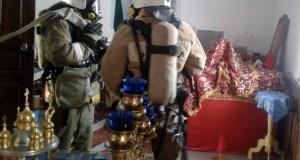Потушен пожар в одном из керченских храмов. Условный