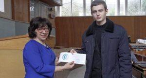 """Талантливые школьники получили удостоверения """"кандидатов в студенты СевГУ"""""""